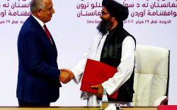 جای خالی مردم افغانستان در توافقنامهی طالبان و امریکا