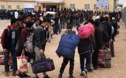 بازگشت نزدیک به ۱۰ هزار افغان از ایران در یک هفتهی گذشته