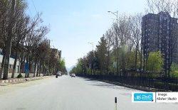 تشدید منع گشتوگذار؛ تصاویری از جادههای خالی شهر کابل