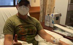 او از ویروس کرونا بهبود پیدا کرد و حالا اهدای پلاسمایش میتواند زندگی دیگران را نجات دهد