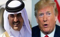 دونالد ترامپ با امیر قطر در مورد پروسهی صلح افغانستان گفتوگو کرد