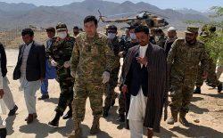 تجاوز و تظاهرات، پای هیأت حکومت را به جاغوری کشاند