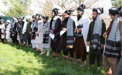 ششمین گروه زندانیان طالب آزاد شدند