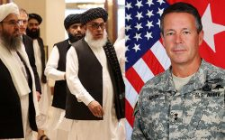 هیأت طالبان با جنرال اسکات میلر دیدار کرد