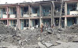 حملهی موتر بمبگذاریشده در مرکز پکتیا ۱۰ کشته به جا گذاشت