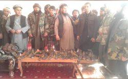 یک فرماندهی طالبان در فاریاب با ۲۳ تن از افرادش به دولت تسلیم شد
