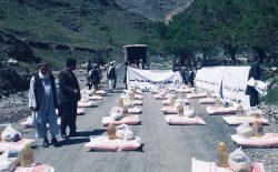 انجمن خیریهی مهاجران افغان در بریتانیا به ۶۰۰ نیازمند در افغانستان کمک کرد