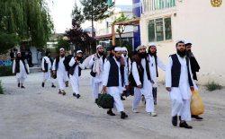 یازدهمین گروه زندانیان طالب آزاد شدند