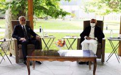 غنی و عبدالله در مورد پروسهی صلح گفتوگو کردند