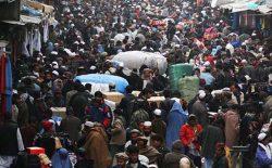 نفوس مجموعی افغانستان در سال ۱۳۹۹ حدود ۳۲٫۹ میلیون نفر برآورد شد