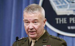 جنرال مکنزی: شمار نیروهای امریکایی در افغانستان به ۸۶۰۰ نفر کاهش یافته است