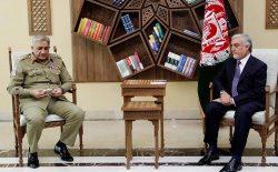 رییس ستاد ارتش پاکستان: آمادهایم تا در راستای برقراری صلح در افغانستان همکاری کنیم