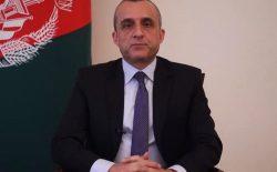 امرالله صالح: صلح با عزت، مدیون ایستادگی نیروهای دفاعی و امنیتی خواهد بود