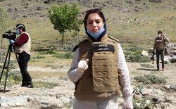 چهرهی دیگر افغانستان؛ انیسه شهید قهرمان اطلاع رسانی شد
