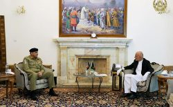 رییسجمهور غنی با رییس ستاد ارتش پاکستان دیدار کرد