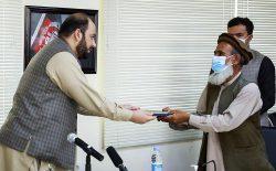 قرارداد ۵۷ پروژهی انکشافی به ارزش بیش از ۴۱۳ میلیون افغانی برای ۱۷ ولایت امضا شد