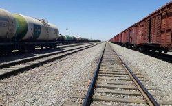 انتقال بیش از ٤٠٠ هزار تُن اموال تجارتی از طریق خط آهن در یک ماه گذشته