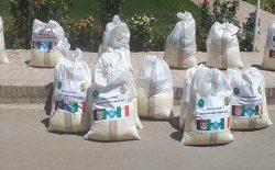 توزیع بستههای مواد غذایی به ۸۰۰ بانوی دارای معلولیت در هرات