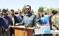فرماندهی پولیس هرات: در حملهی هوایی در ولسوالی ادرسکن ۵ غیرنظامی کشته شدند