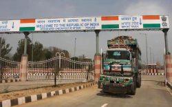 نخستین محمولهی کالاهای تجارتی افغانستان از طریق گذرگاه «واگه» به هند رسید