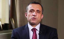 امرالله صالح: به خواست طالبان تسلیم نمیشویم