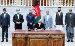 رییسجمهور غنی فرمان آزادی ۴۰۰ زندانی خطرناک طالبان را امضا کرد
