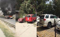 وزارت داخله: شمار قربانیان حملات راکتی در شهر کابل به سه کشته و ۱۶ زخمی افزایش یافت