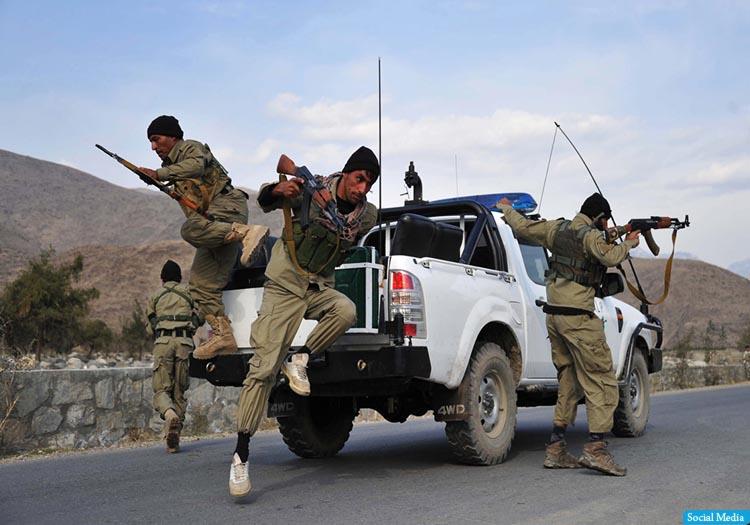 کشته شدن ۸ سرباز امنیتی در ولایت ننگرهار