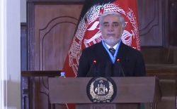 عبدالله عبدالله به طالبان: آتشبس کنید تا مردم احساس کنند که به صلح تعهد دارید