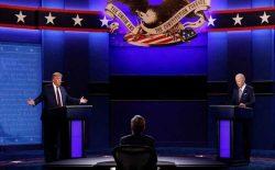 نخستین مناظرهی انتخاباتی میان ترامپ و بایدن برگزار شد