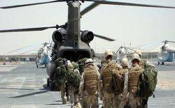 شمار نیروهای امریکایی در افغانستان به ۴۵۰۰ نفر کاهش مییابد