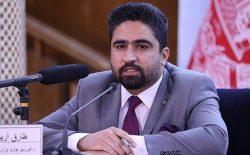 طارق آرین: در ۶ ماه گذشته نزدیک به ۳۵۰۰ غیرنظامی در حملات طالبان کشته و زخمی شدند