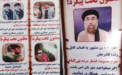 نشر عکس سیاسیون در ردیف مظنونین؛ مردم کابل با پولیس همکار اند