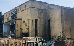 روند تخریب سینما پارک کابل آغاز شد