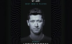 رابرت لواندوفسکی بهترین بازیکن سال ۲۰۲۰ شد