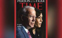 جو بایدن و کاملا هریس شخصیتهای سال ۲۰۲۰ مجلهی تایم شدند