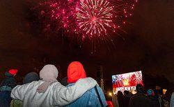 سال نو میلادی؛ کرونا جلو برگزاری بسیاری از جشنها را گرفت