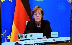 نخستوزیر آلمان: ادامهی خشونتها همزمان با گفتوگوهای صلح قابل قبول نیست