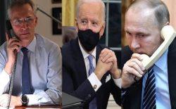 جو بایدن با دبیر کل ناتو و رییسجمهور روسیه گفتوگو کرد