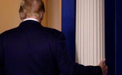 پیام خداحافظی دونالد ترامپ