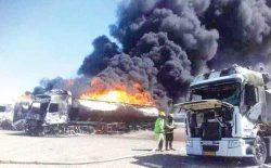 آتشسوزی بندر اسلامقلعه؛ حادثه یا کمکاری مسئولان حکومتی؟