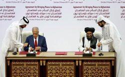 امضای توافقنامه با امریکا و گسترش جنگ در افغانستان
