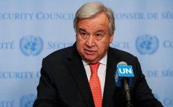 دبیر کل سازمان ملل خواهان برقراری آتشبس جهانی شد