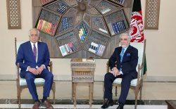 عبدالله عبدالله با زلمی خلیلزاد دیدار کرد
