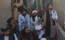 مراسم جانشینی رهبر طالب در سایهی جمهوری