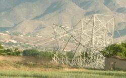 دو پایهی برق وارداتی ازبیکستان در ولسوالی کلکان کابل تخریب شد