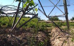 چهار پایه برق وارداتی تناژبلند در شهر چاریکار هدف انفجار ماین قرار گرفت