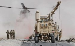 طنین جنگ در پایگاههای نظامی خالی