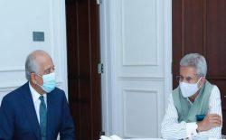 زلمی خلیلزاد با وزیر خارجهی هند، در بارهی روند صلح افغانستان صحبت کرد