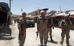 عملیات نظامی در فاریاب؛ چندین روستا در ولسوالی پشتونکوت از وجود طالبان پاک شد